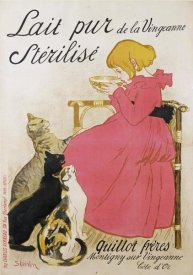 Theophile Steinlen - Pure Sterilized Milk