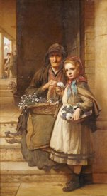 William Robert Symonds - At The Market-Gate, Covent Garden