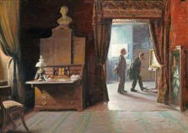 Michael Therkildsen - The Critic In The Artist's Studio