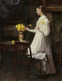 Carl Thomsen - Arranging Daffodils