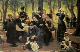 Wenzel Thornoe - The Picnic, Dyrehaven