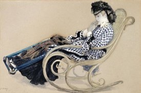 James Jacques Tissot - Study For The Last Evening