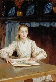 Frank William Warwick Topham - The Young Collector
