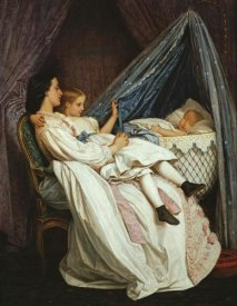Auguste Toulmouche - The New Arrival