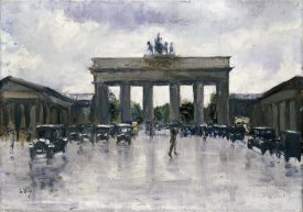 Lesser Ury - The Brandenburg Gate