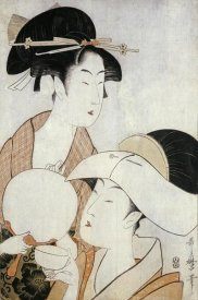 Kitagawa Utamaro - Bust Portrait of Two Women