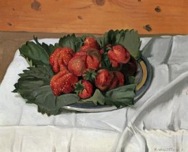 Felix Vallotton - Still Life With Strawberries