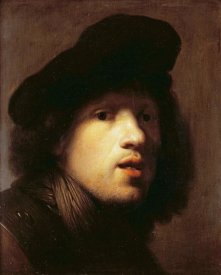 Rembrandt Van Rijn - Portrait of The Artist