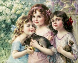 Emile Vernon - The Three Graces