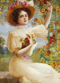 Emile Vernon - A Summer Beauty