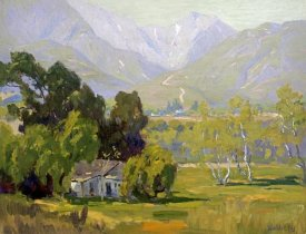 Elmer Wachtel - Canyon Near Ojai