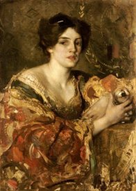 Edward Arthur Walton - The Fortune Teller, Miss Jane Aitken