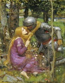 John William Waterhouse - A Study For 'La Belle Dame Sans Merci'