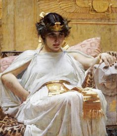 John William Waterhouse - Cleopatra