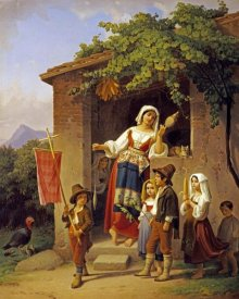 Theodor Leopold Weller - The Festival