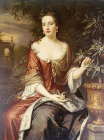 William Wissing - Portrait of Queen Mary II