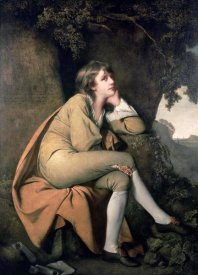 Joseph Wright - Edwin, From Dr Beattie's 'Minstrel'
