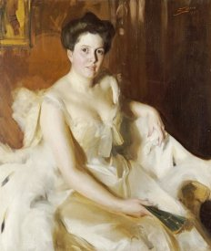 Anders Leonard Zorn - Portrait of Mrs De Ver Warner