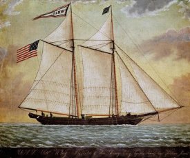 American School - The Schooner Whig