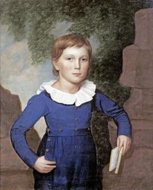 American School - Portrait of a Boy