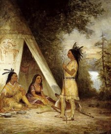 American School - The Betrothal of Hiawatha