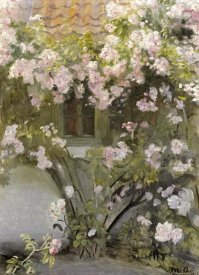Michael Ancher - Climbing Roses