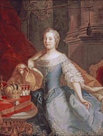 Johann Gottfried Auerbach - Empress Maria-Theresa