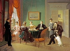 Emilius Baerentzen - A Portrait of The Schram Family