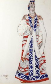 Leon Bakst - Costume Design For The Production Moskwa