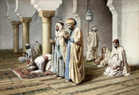Frederico Bartolini - Arabs at Prayer