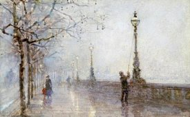 Rose Maynard Bartom - The Last Lamp, Thames Embankment