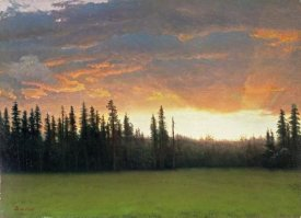 Albert Bierstadt - California Sunset
