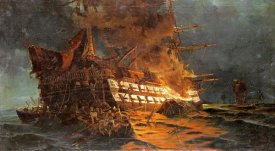 Konstantinos Bolanachi - The Loss of The Ajax Off Cape Janissary