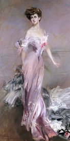 Giovanni Boldini - Portrait of Mrs. Howard-Johnston