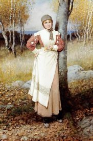 George Henry Boughton - A Rose In New England