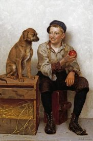 John George Brown - Teasing The Pup