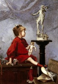 Louis-Robert Carrier-Belleuse - The Doll