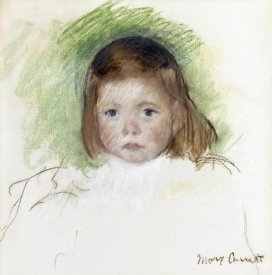 Mary Cassatt - Portrait of Ellen Mary Cassatt