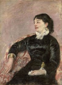 Mary Cassatt - Portrait of An Italian Lady