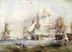George Chambers - The Battle of Traflagar
