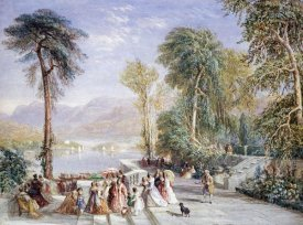 David Cox - Windermere During The Regatta