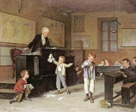 Andre Henri Dargelas - The School Room