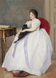 Gustave De Jonghe - The Confidante