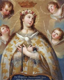 Jose De Paez - Coronation of The Virgin