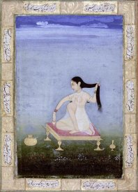 Deccan - A Woman at Her Toilet