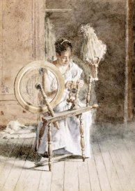 Thomas Eakins - Spinning