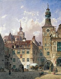 Friedrich Eibner - The Old Town Hall, Munich
