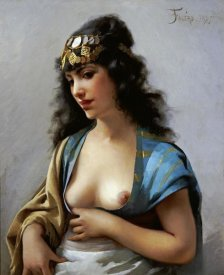 Luis Riccardo Falero - An Eastern Beauty