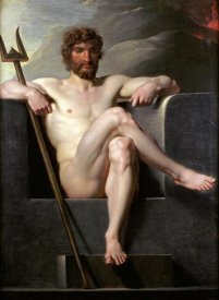 Friedrich Heinrich Fuger - Poseidon Enthroned