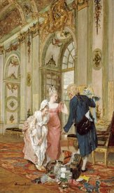 Caspar Augustin Geiger - The Visiting Salesman